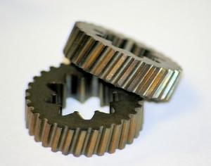 powdered metal helical gears