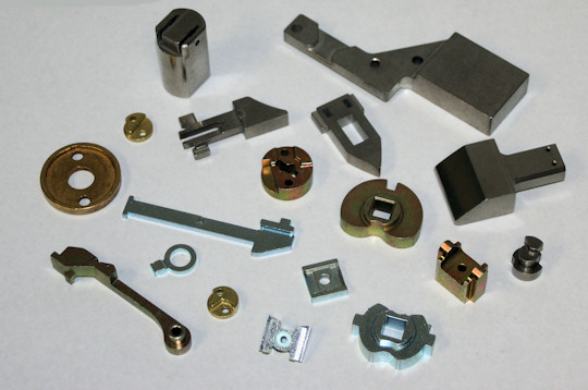 lock parts made from powdered metal