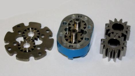 powdered metal pump gears