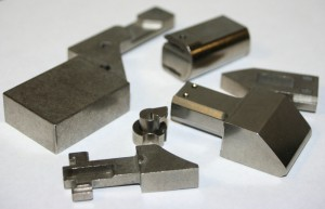 stainless steel lock parts made from powdered metal