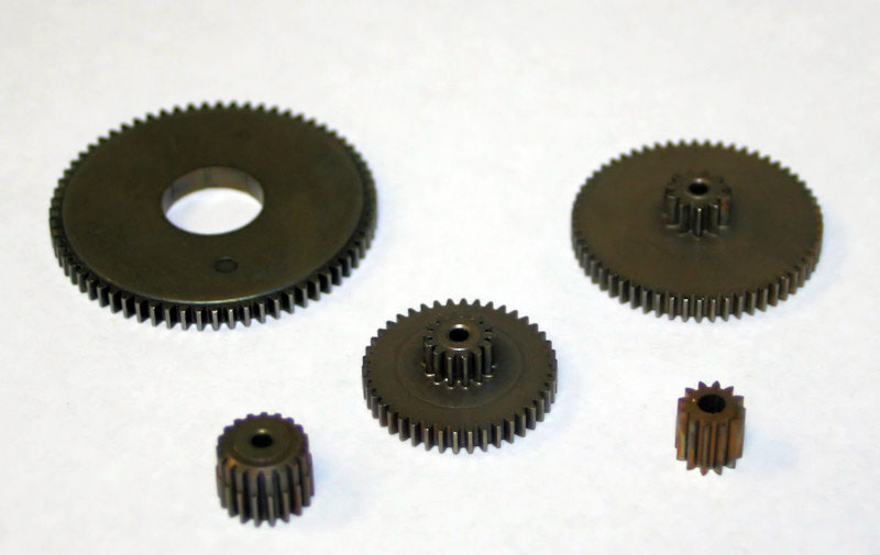 fine pitch gears made from powdered metal