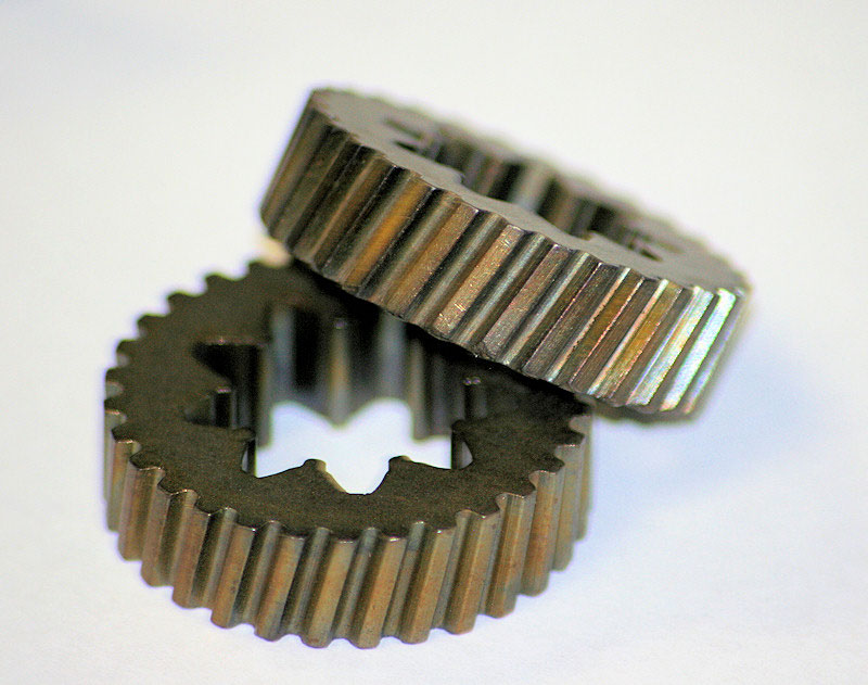 powdered metal helical gears